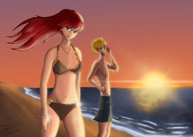 The day at the beach by Silverado98