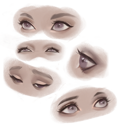 Personnaliser eyes studies by Amethylia