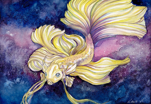 :Gift: Pisces by Laura-Vi