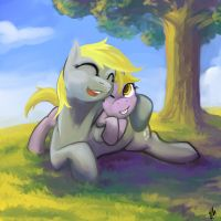 I just call her mommy! by Hobbes-Maxwell