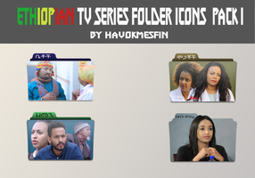 Ethiopian Tv Series Folder Icons Pack1  By Havok by Havokmesfin
