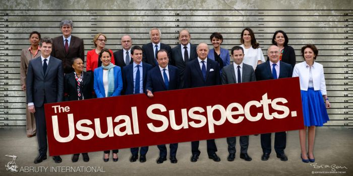 France - The Usual Suspects by Bragon-the-bat