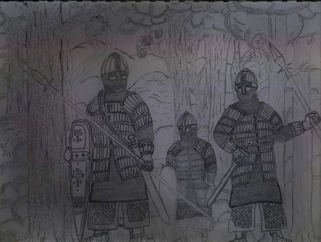 Norman Knights by ImperatorDavianus