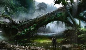 Jungle Hunt by Aths-Art