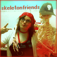 skeletonfriends by koanodan