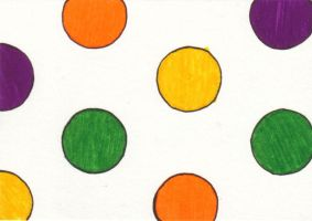 etsy postcard - polka dot by yatsu