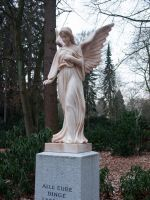 STOCK Angel statue by Inilein