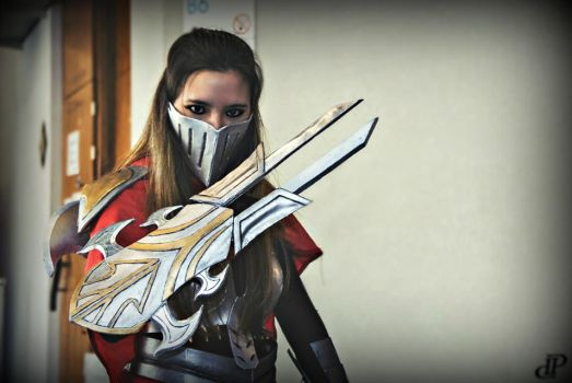 Zed cosplay by beopower