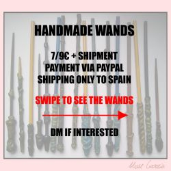 HANDMADE WANDS ON SALE by THE-UNIVERSE-IS-OVER