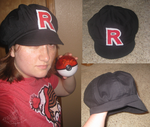 Team Rocket Hat by RoseSagae