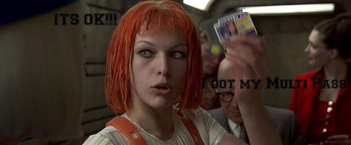 Leeloo: Multi Pass by MichaelsGal