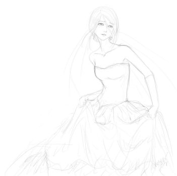 The Runaway Bride WIP by cheztee