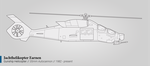 Jachthelikopter Earnen (Helicopter Gunship) by graphicamechanica