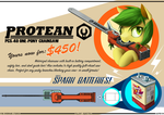 AoE: Protean PCS-40 One-Pony Chainsaw by TheOvermareStudios