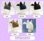 Bat Hat Realistic Colors by cutekick