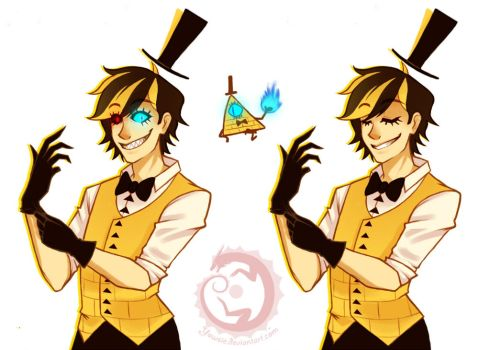 Gravity Falls: Bill Cipher by Yowsie