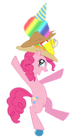 Pinkie the One-Pony Party by BronyBiscuitBites