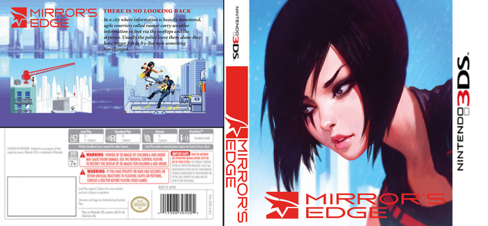 Mirror'Edge 3DS by LOrdalie