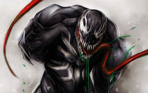 Venom Wallpaper by suspension99