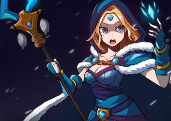 Crystal Maiden by LataeDelan