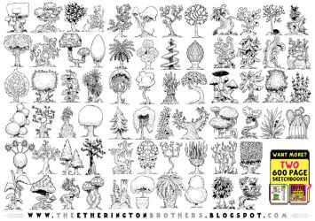 68 TREES AND PLANTS! by STUDIOBLINKTWICE