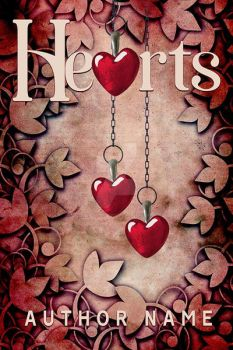 Fading Hearts Book Cover by DLR-Designs