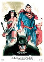 Justice League by rafaelalbuquerqueart
