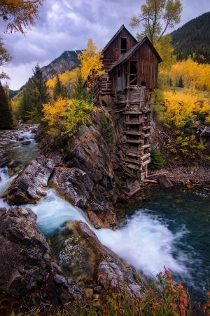 Crystal Mill by porbital
