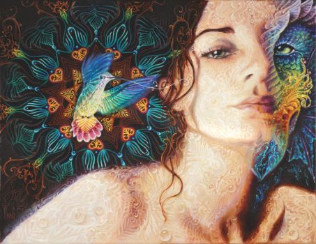 I dreamt I was made of nectar. by serpentfeathers