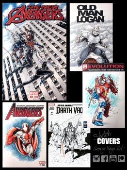 Sketch covers  by shaotemp