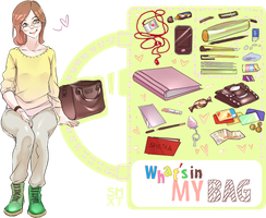 What's in by bag meme by Smoxt