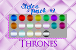 Styles #07 - Thrones by YuriBlack