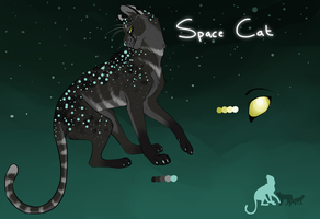 Space Cat, the Intellect by Staniqs
