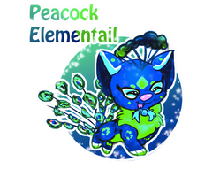 Peacock Elementail Auction CLOSED by LittleHomeofMacarons