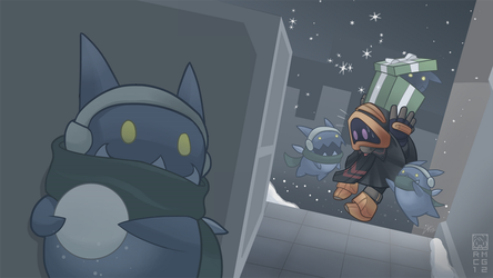 Winterfest Mission Fail (Spiral Knights) by RoseCG