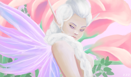 A Fairy by pandacrissbow