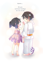 little ayano aishi x little budo masuta