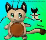 Peniku-Baby meowth by Foxymon