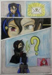 Special Comic: Mysterious Challenger by kjl03