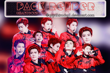 Pack Render Chanyeol by quynhtrocbg1