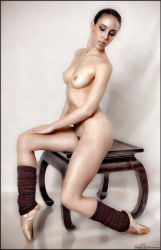 Ballerina on End Table by stanjan257