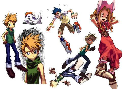 {DIGIMON} ymjg by llllle