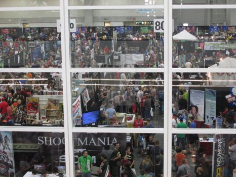 The slowest day at Salt Lake comic-con by CJWHavoc