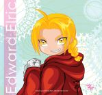 Edward Elric color vector by LucyMeryChan