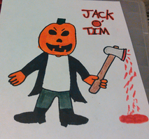 Jack O' Tim (Colored Version) by TwistedDarkJustin