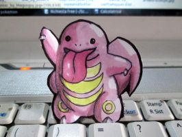 Paperchild 176. Pokemon#108 - Lickitung