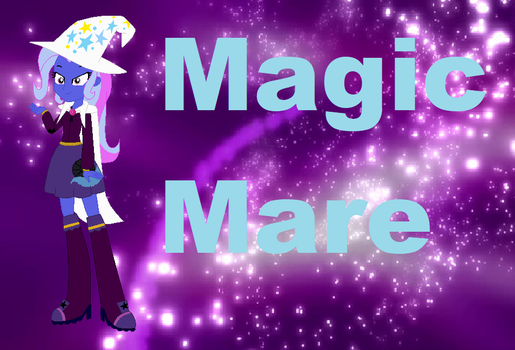 Magic Mare by timelordderpy