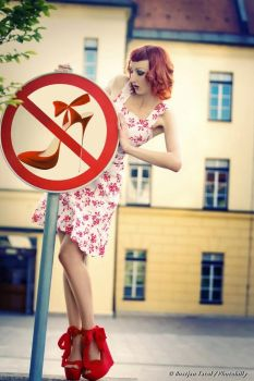 heels? banned??? by Rubelle