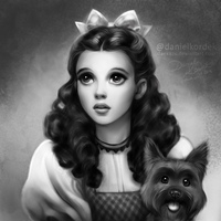 Judy Garland as Dorothy by daekazu