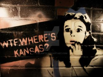 WTF Wheres Kansas? by blawte